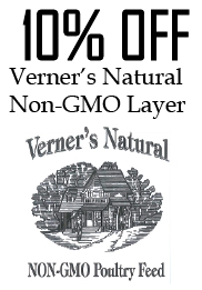 Verners Natural Non-GMO Layer