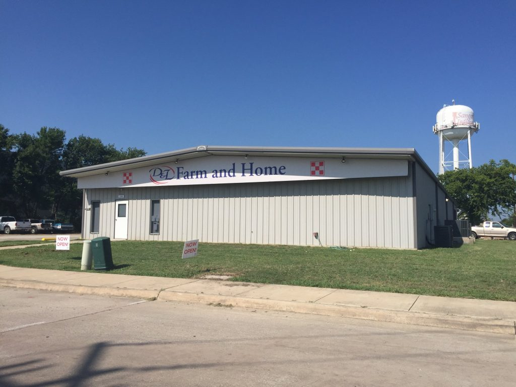 D&L - Farm and Home - Sanger has moved